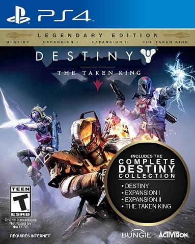 Destiny: The Taken King Legendary Edition $29.99 (reg. $59.99)