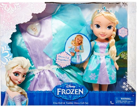 Disney Frozen Doll With Toddler Dress $13.50 at Target – Today ONLY