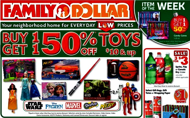 Family Dollar Weekly Match-up 12/8-12/14