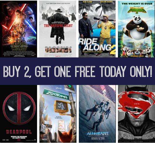 Fandango: B2G1 Free Movie Ticket With Visa Checkout!