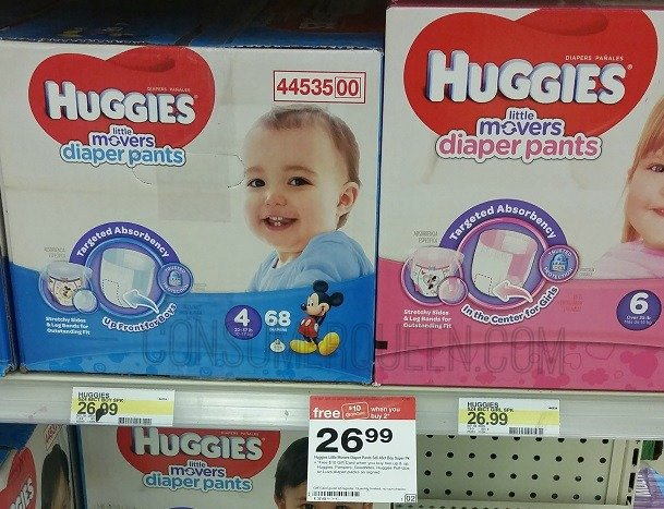 Huggies Super Packs as Low as $13.25 at Target!