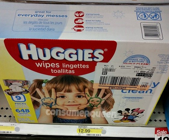 Huggies Wipes at Target: 1¢ per Wipe Today ONLY!