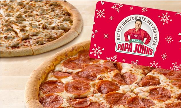 Papa John's Pizza – 2 FREE Pizzas WYB $25 From Groupon ($55 value!)