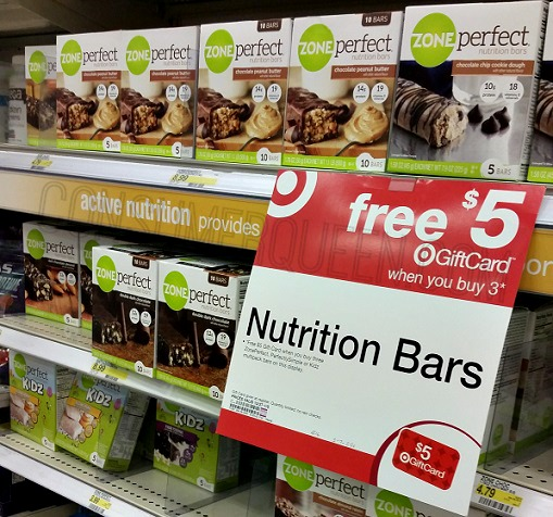 ZonePerfect Kids Zone 5-ct. Bars ONLY $1.15 at Target