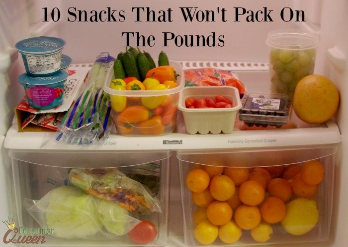 10 Healthy Snacks That Won't Pack On The Pounds!