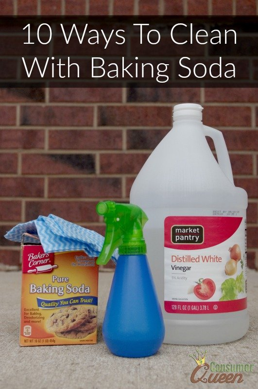 10 Ways To Clean With Baking Soda