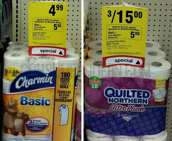 HOT Deals on Charmin, Angel Soft, Brawny (as Low as $1.22 per pack!)