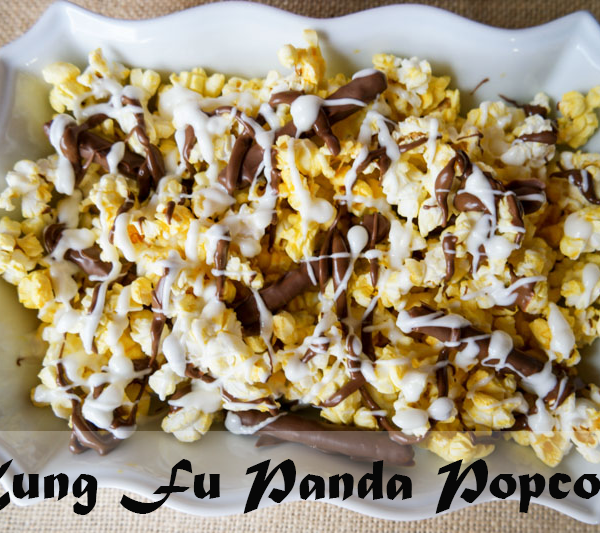 Kung Fu Panda Popcorn Recipe & Review