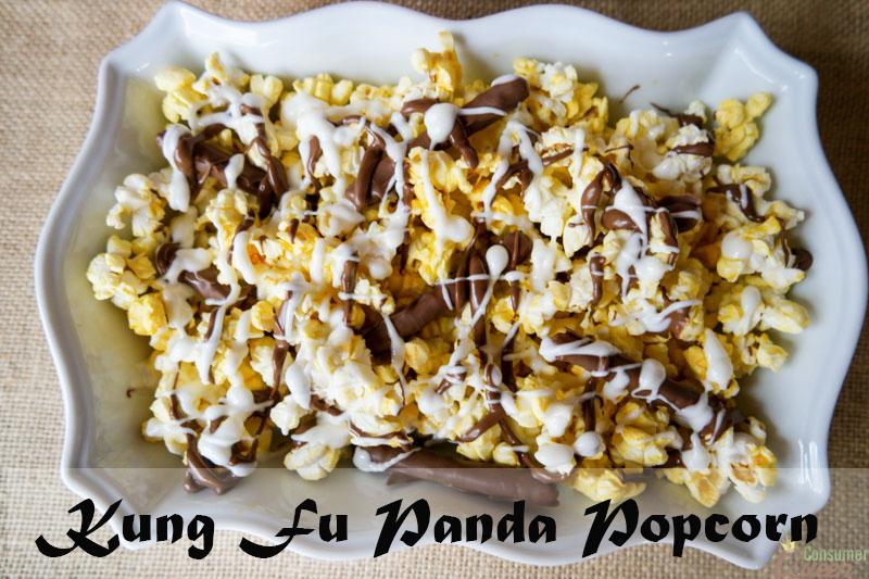 Kung Fu Panda Popcorn Recipe & Review
