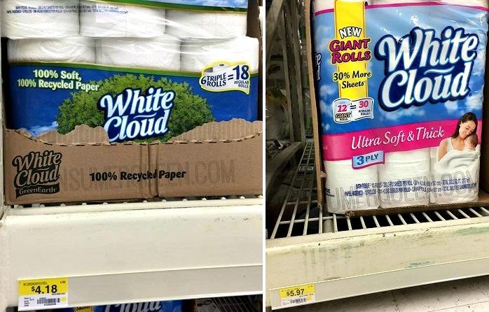 3 New White Cloud Coupons Plus HOT Walmart Deals!