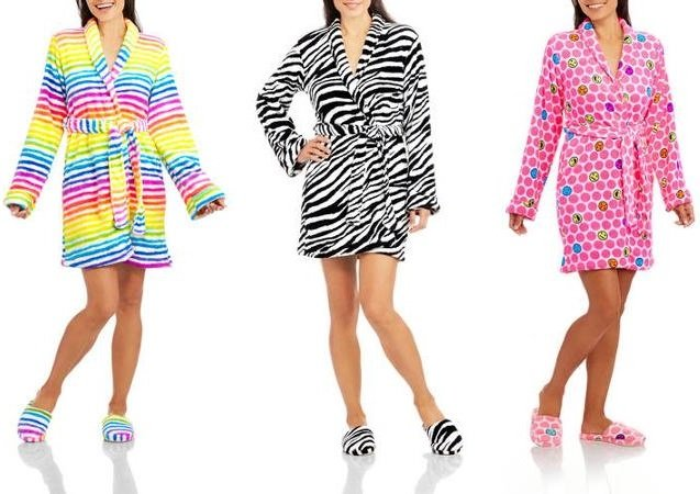Body Candy Robe & Slipper Sets $5 With FREE Store Pick-Up at Walmart!