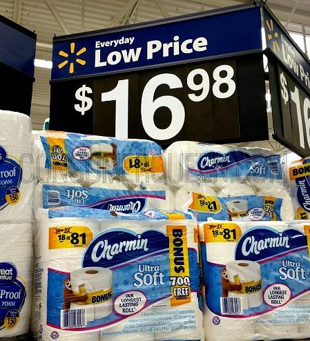 Charmin Bath Tissue as Low as 17¢ per Roll at Walmart!