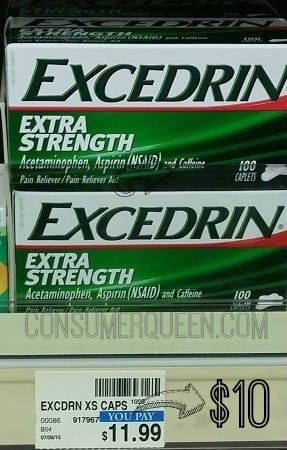 CHEAP Excedrin at CVS This Week!