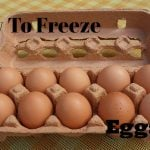 How to Freeze Eggs!