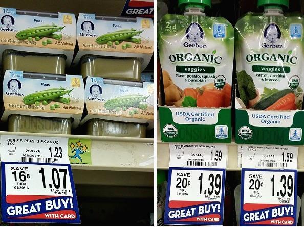 Gerber Baby Food as Low as 7¢ at Homeland, 58¢ at Target & Walmart!