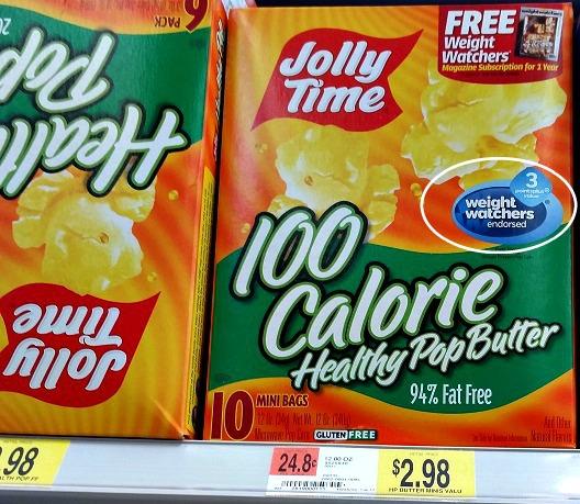 FREE Jolly Time Popcorn at Homeland, 93¢ at Walmart!