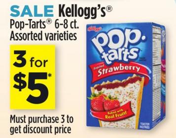 Kellogg's Pop-Tarts ONLY $1.33 at Dollar General!