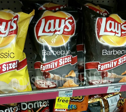 Lay's FAMILY Size Chips Only $2.15 at CVS!