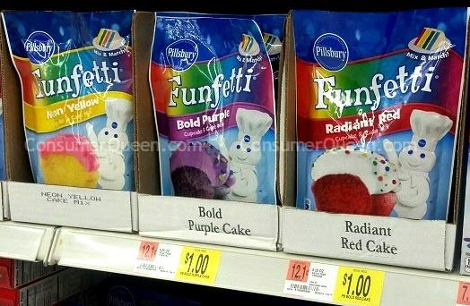 Pillsbury Cake Mix as Low as 75¢ at Walmart!