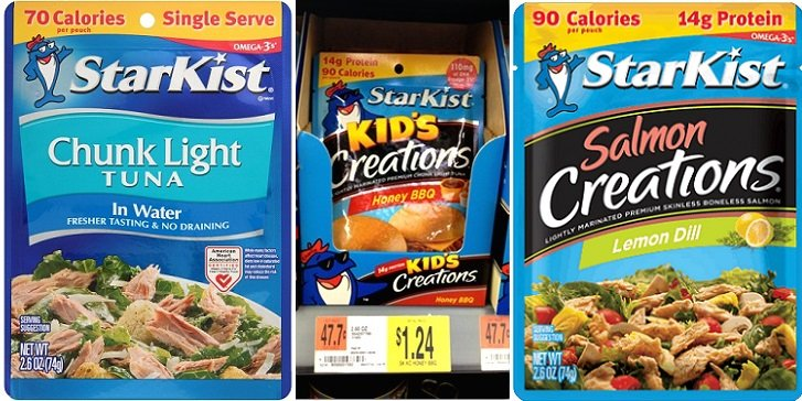 New Starkist Tuna Pouch Coupons + Store Deals (as Low as 29¢)