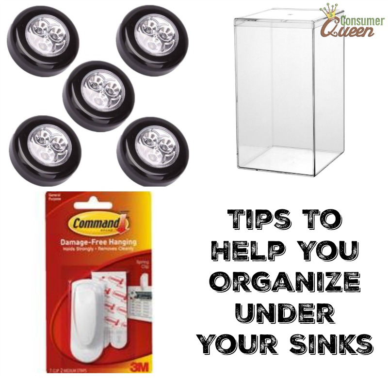 Tips To Help You Organize Under Your Sinks