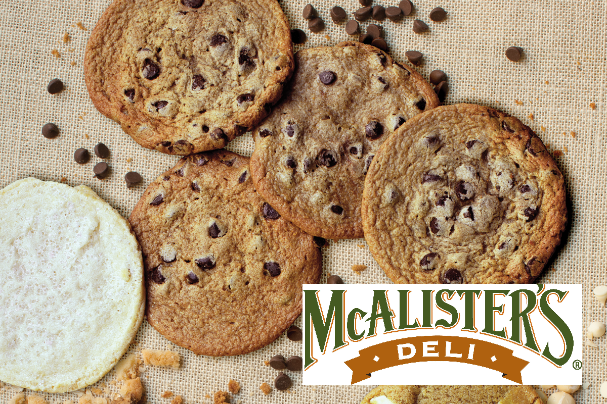 image regarding Mcalister's Coupons Printable called McAlisters Deli - Totally free Cookie If Your Birthday is 2-29