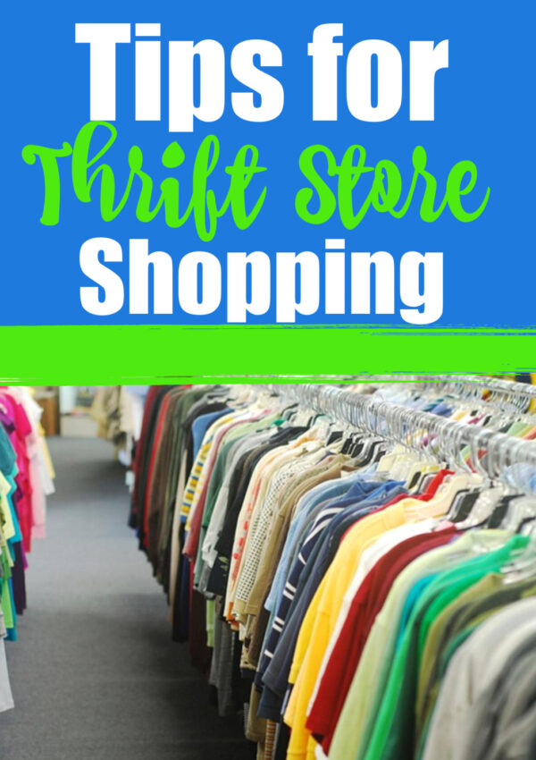 Tips For Thrift Store Shopping!