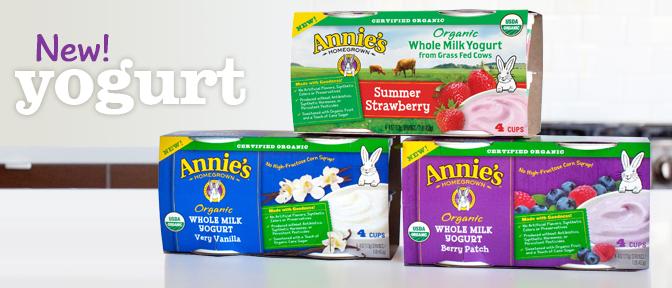 New Product + Coupon! Annie's Organic Yogurt at Target