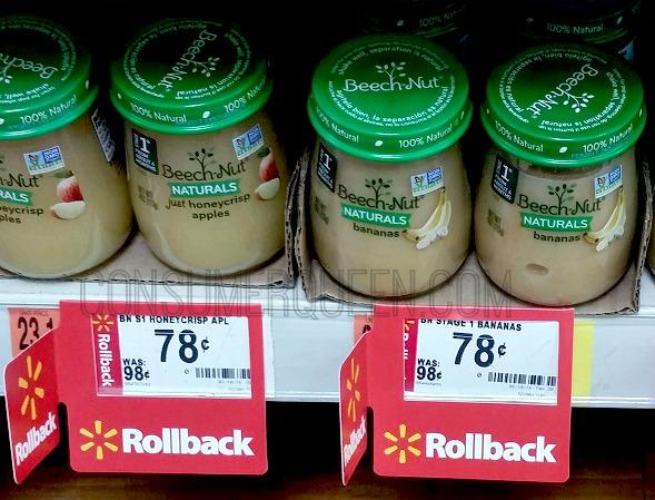 Beechnut Naturals Baby Food 58¢ Thru Tomorrow at Walmart!