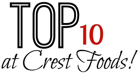 Top 10 Deals at Crest Foods 8/13