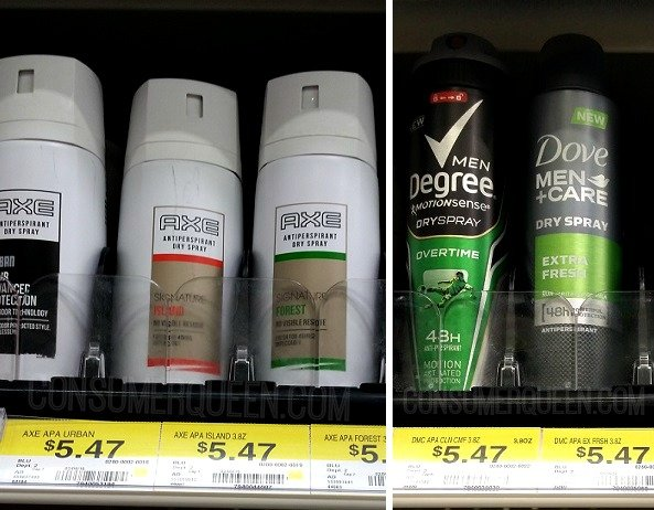 New $4.00/2 Dry Spray Deodorant & Store Deals!