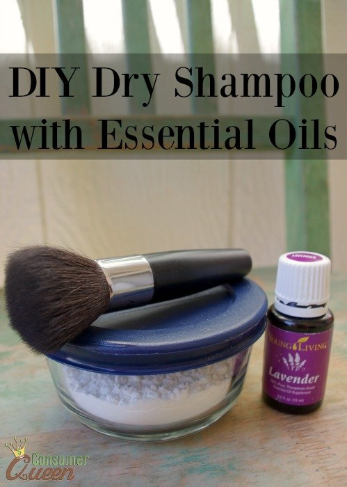 diy dry shampoo with essential oils