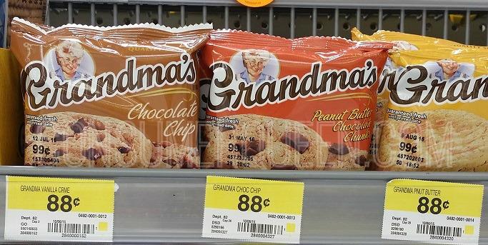 Grandmas Cookies FREE + Profit at Walmart, FREE at CVS & Rite Aid!