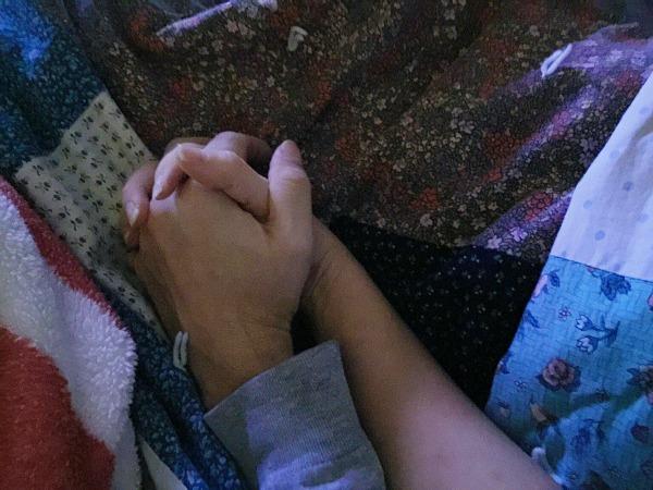 holding hands Daniel