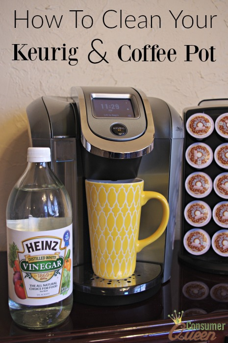 How To Clean Your Keurig And Coffee Pot