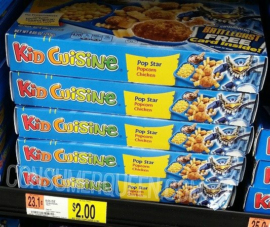 Kid Cuisine Meals Only $1.33 at Walmart!