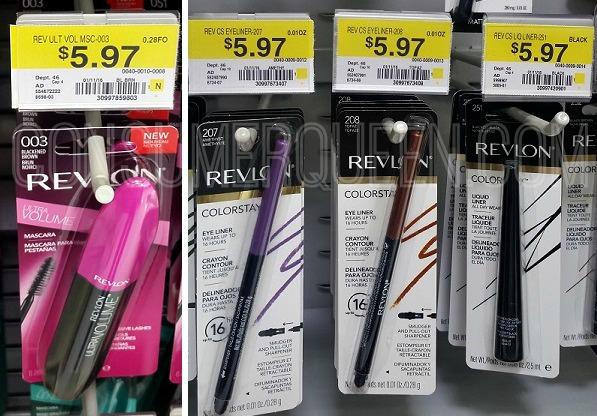 CHEAP Revlon Mascara & Eyeliner at Walmart!