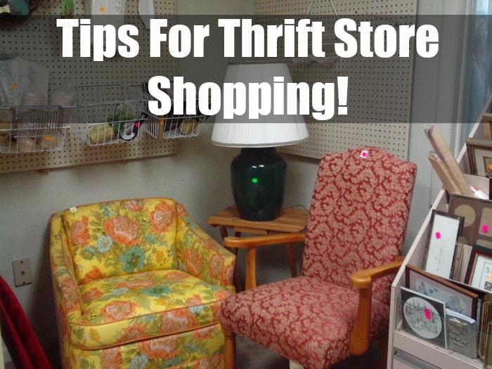 Tips For Thrift Store Shopping!