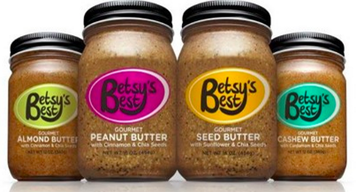 Betsy's Best Nut & Seed Butter FREE Sample!