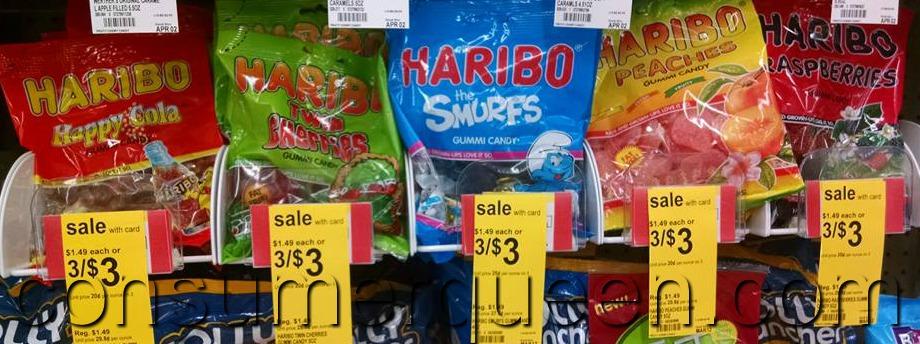 Haribo Gummy Candy 67¢ at Walgreens