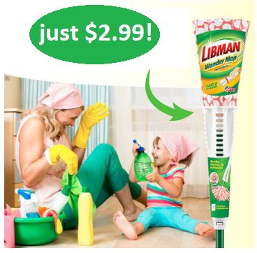 Libman Wonder Mop $2.99 at Walgreens