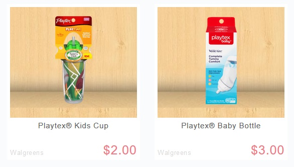 Playtex Bottle or Sippy Cup FREE at Walgreens!