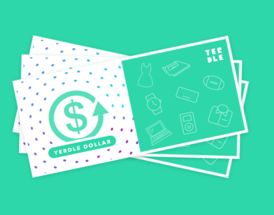Sign Up With Yerdle and Get 35 Yerdle Dollars + Free Shipping