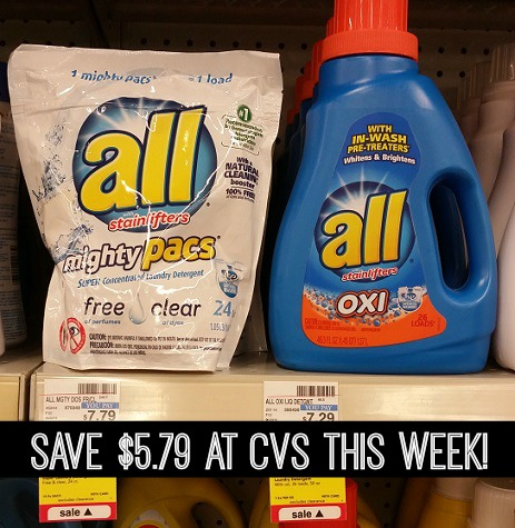 Snuggle & All Detergent $2 at CVS!
