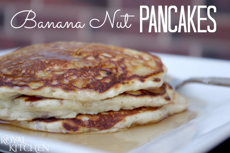 Banana Nut Pancakes- ConsumerQueen.com- Oklahoma's Coupon Queen