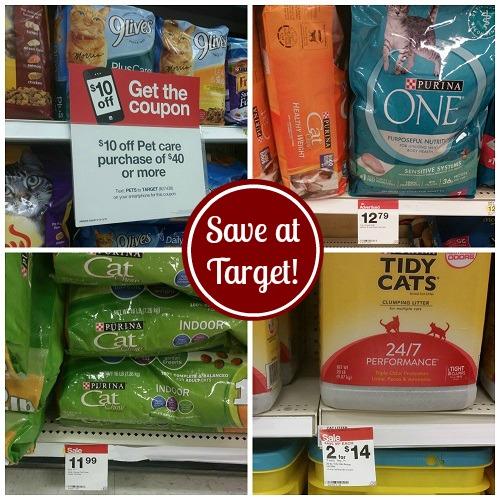 Deals on Cat Food, Litter & Treats at Target!
