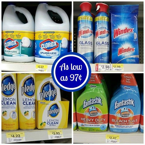 Great Deals on Cleaning Supplies at Walmart!