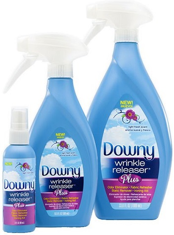 Downy Wrinkle Releaser Plus (16 oz.) 19¢ at Homeland!
