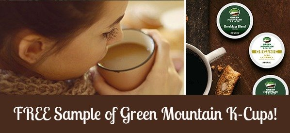 FREE Green Mountain Coffee K-Cup Sample Pack!