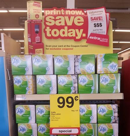CHEAP Puffs Tissues at CVS This Week!